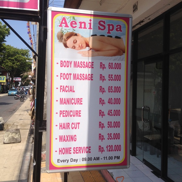 happy ending massage price list bangkok Warrnambool